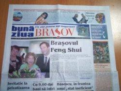 """Articol în cotidianul local """"Bună Ziua Braşov"""""""