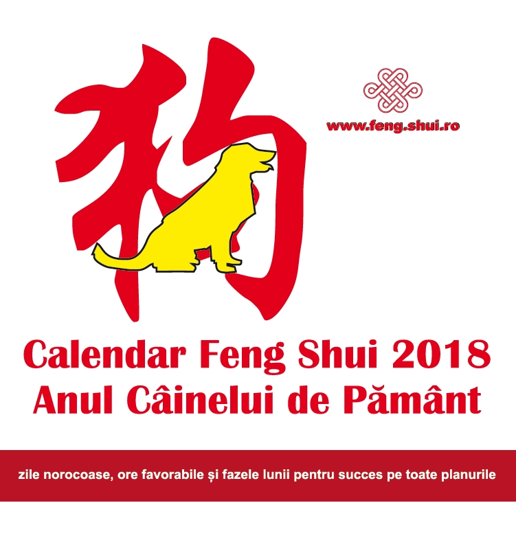 Calendar Feng Shui 2018 in limba romana