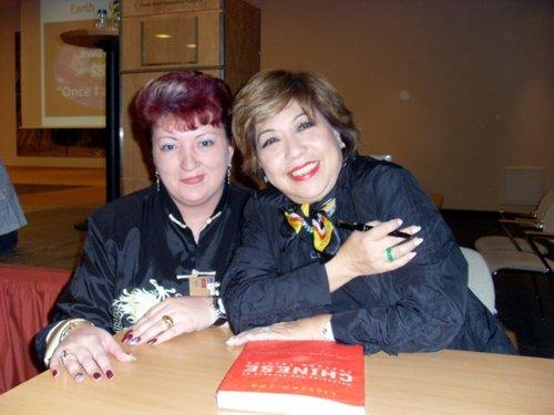 Cristina alături de marea maestră internațională Lillian Too - Malaezia.